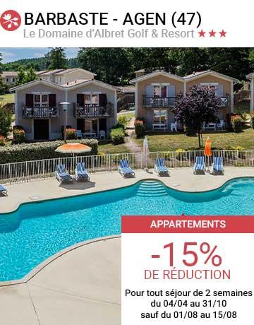 Le Domaine d'Albret & Resort  *** Barbaste