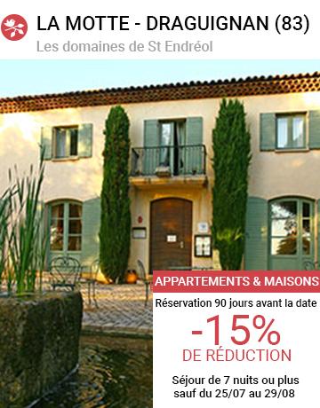 Les Domaines de St Endreol **** - La Motte en Provence