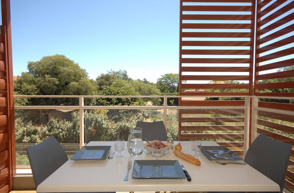 Slide balcon privatif