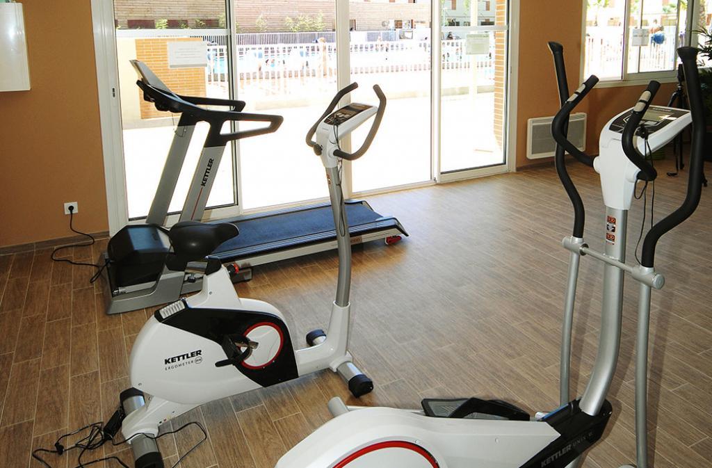 Slide salle de fitness