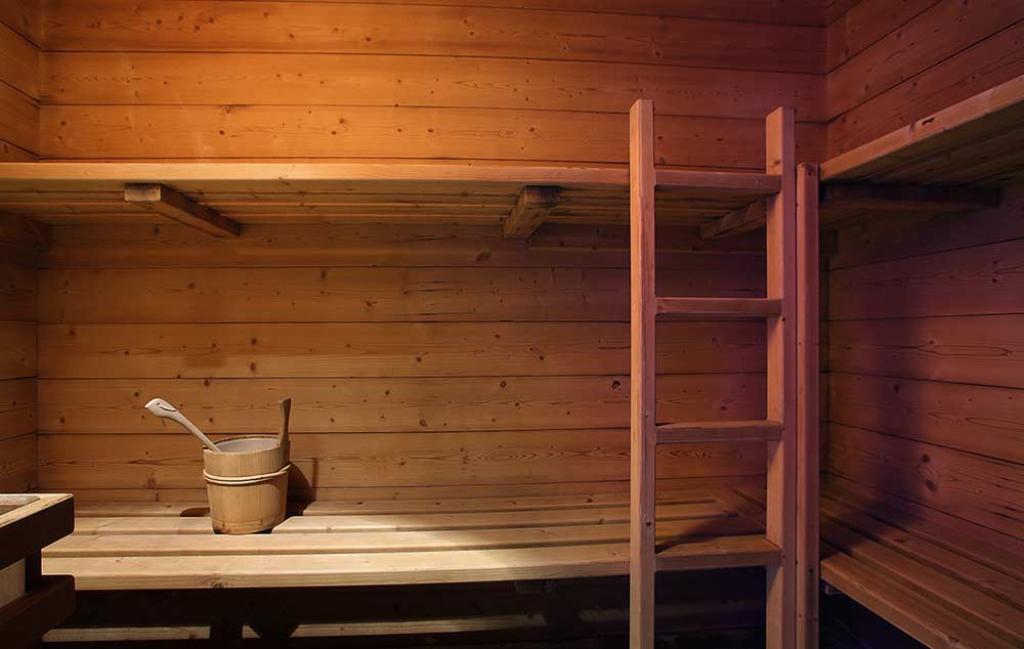 Slide le sauna