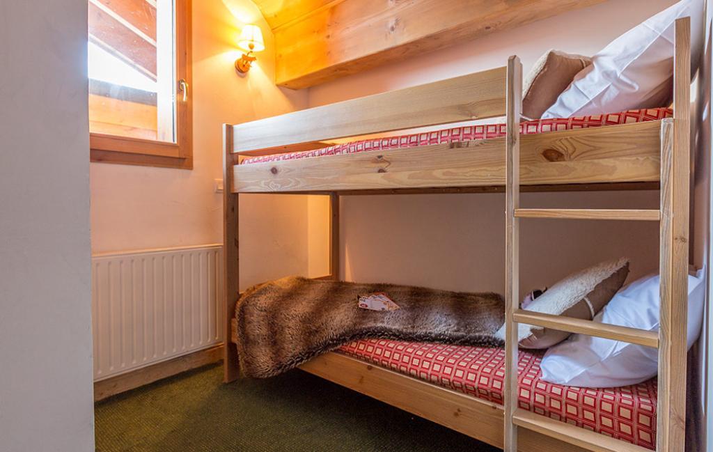 Slide un exemple de chambre avec lits superposés