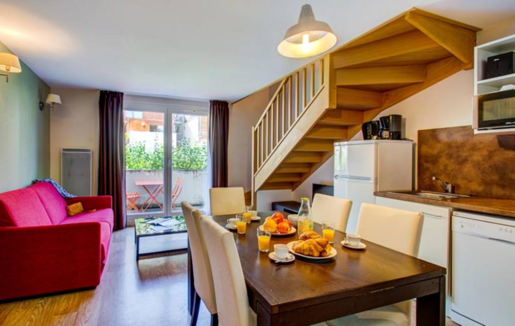 Slide un exemple d'intérieur d'appartement