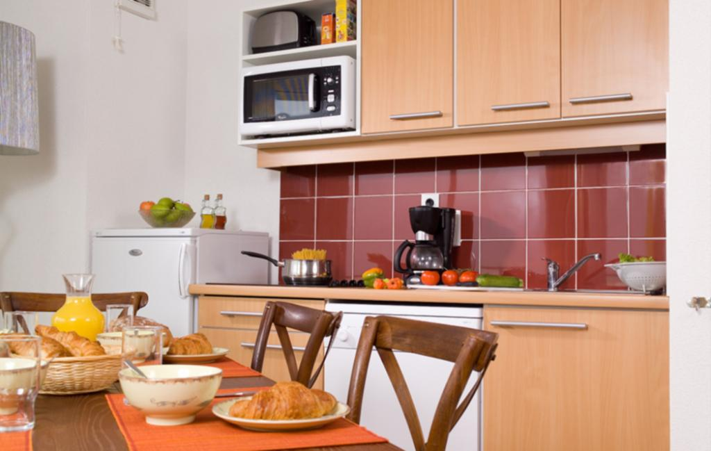 Slide un exemple de cuisine équipée