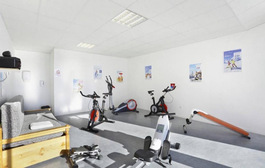 Slide Les chalets des Belvédère - salle de sport