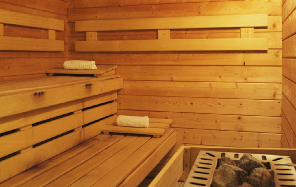 Slide Les Grands Ax - sauna