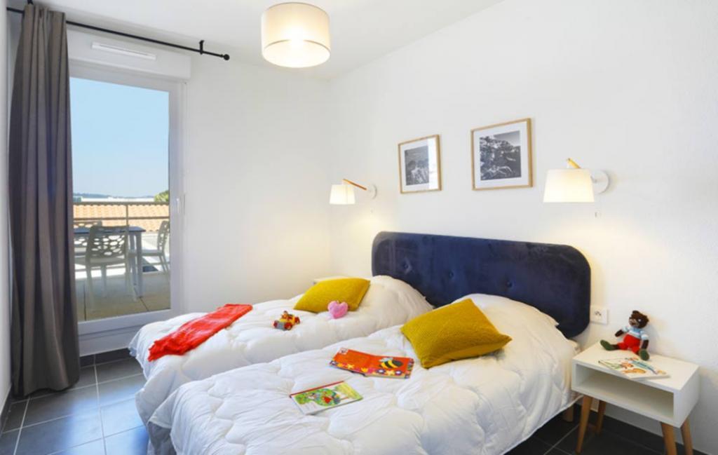 Slide Chambre lits simples - Cap Azur
