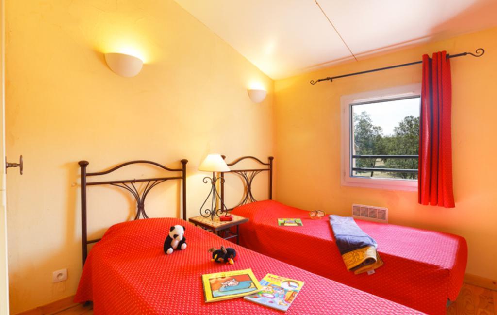 Slide Chambre avec lits simples - Les Portes des Cévennes