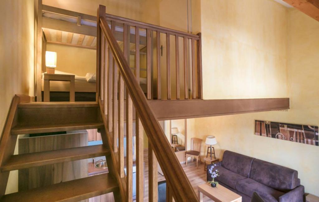 Slide Exemple de chambre mezzanine