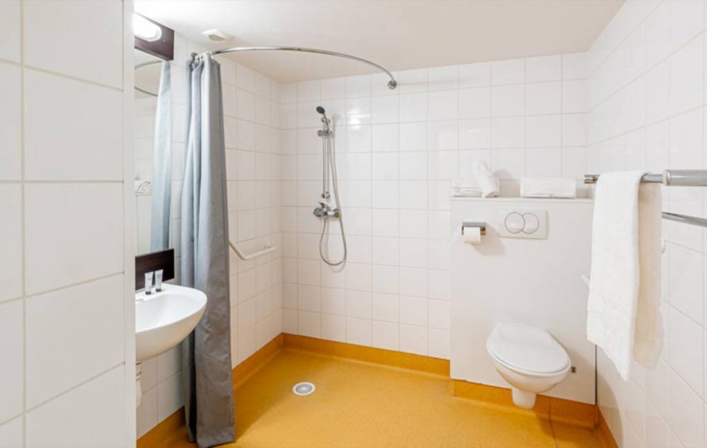 Slide la salle de bain PMR