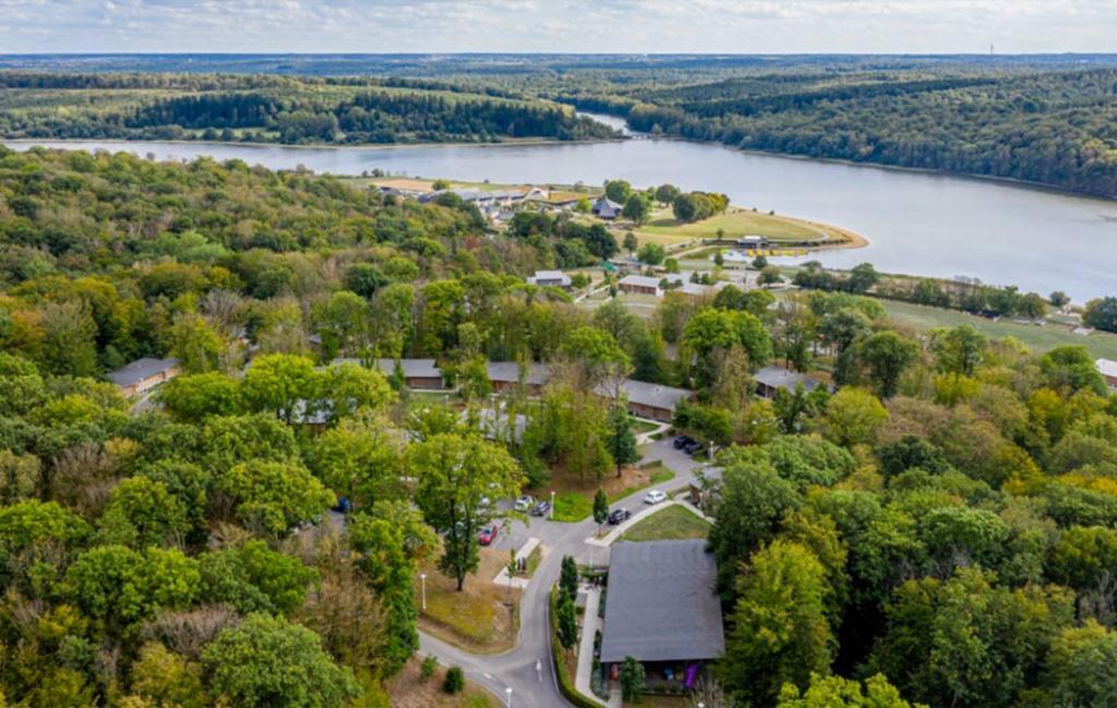 Slide la vue sur le lac