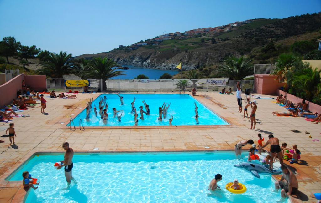 Slide les piscines avec vue mer