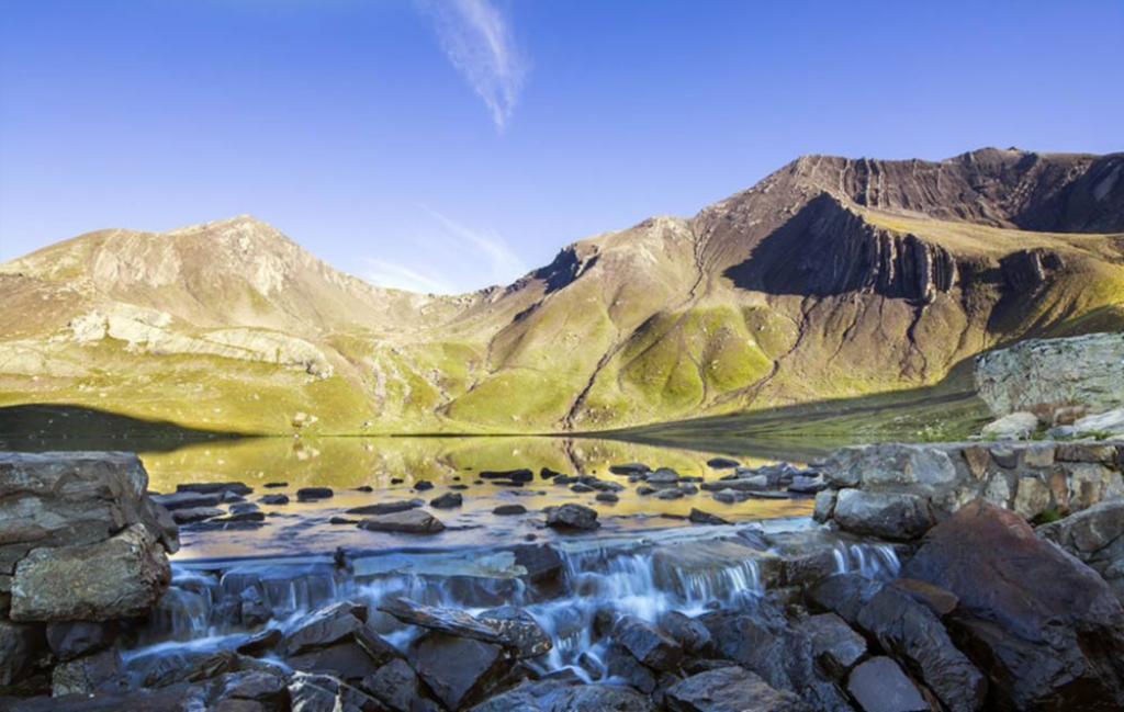 Slide paysage lac