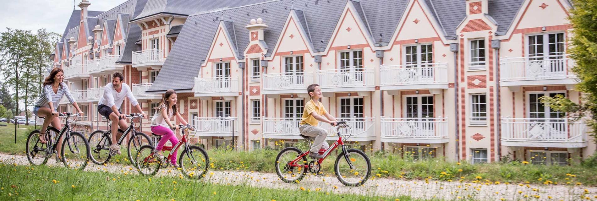 Slide balade en vélo