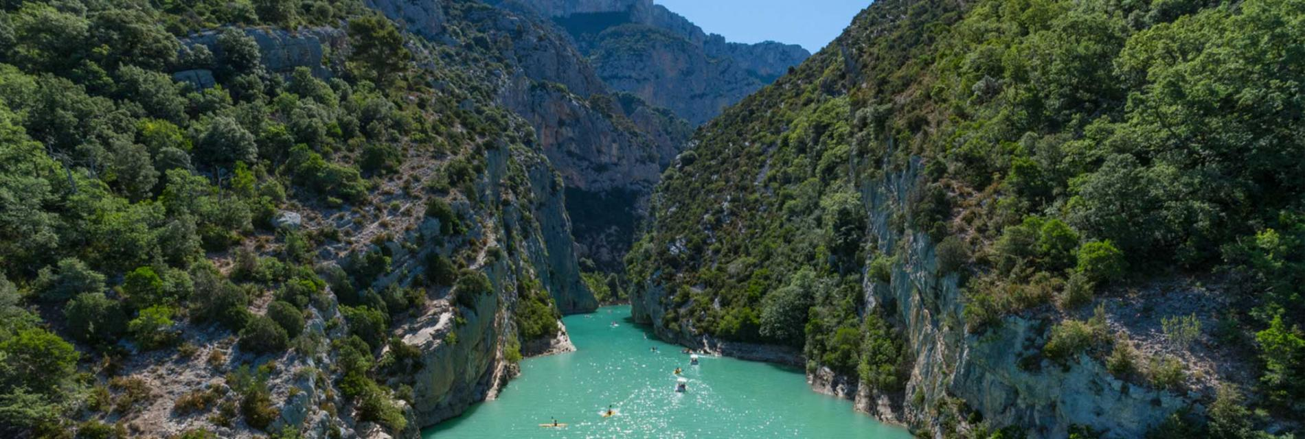 Slide les gorges du verdon