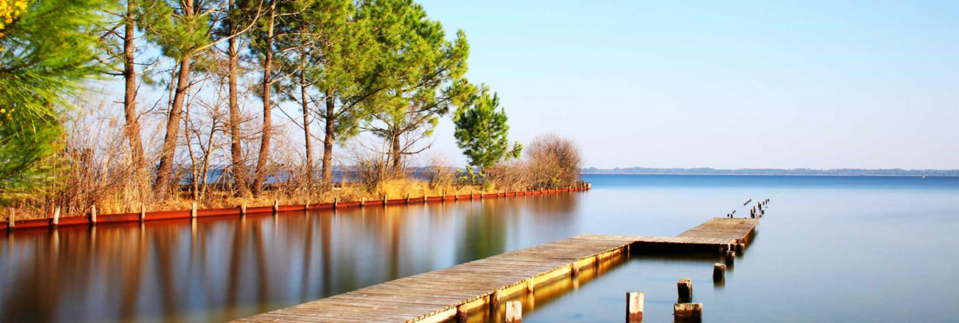Slide le lac de biscarosse