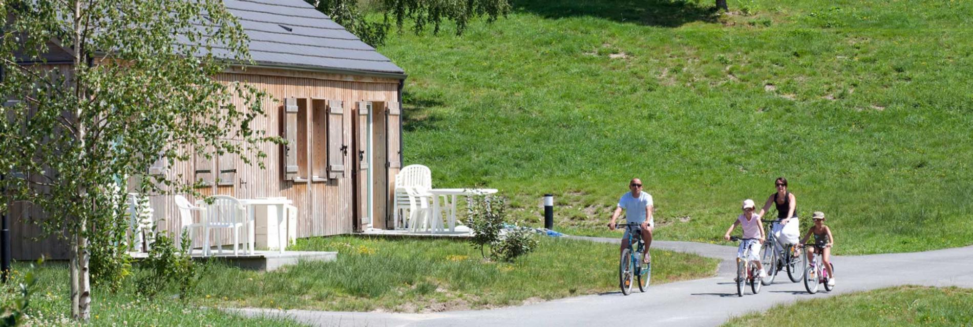 Slide Balade en vélo dans la résidence