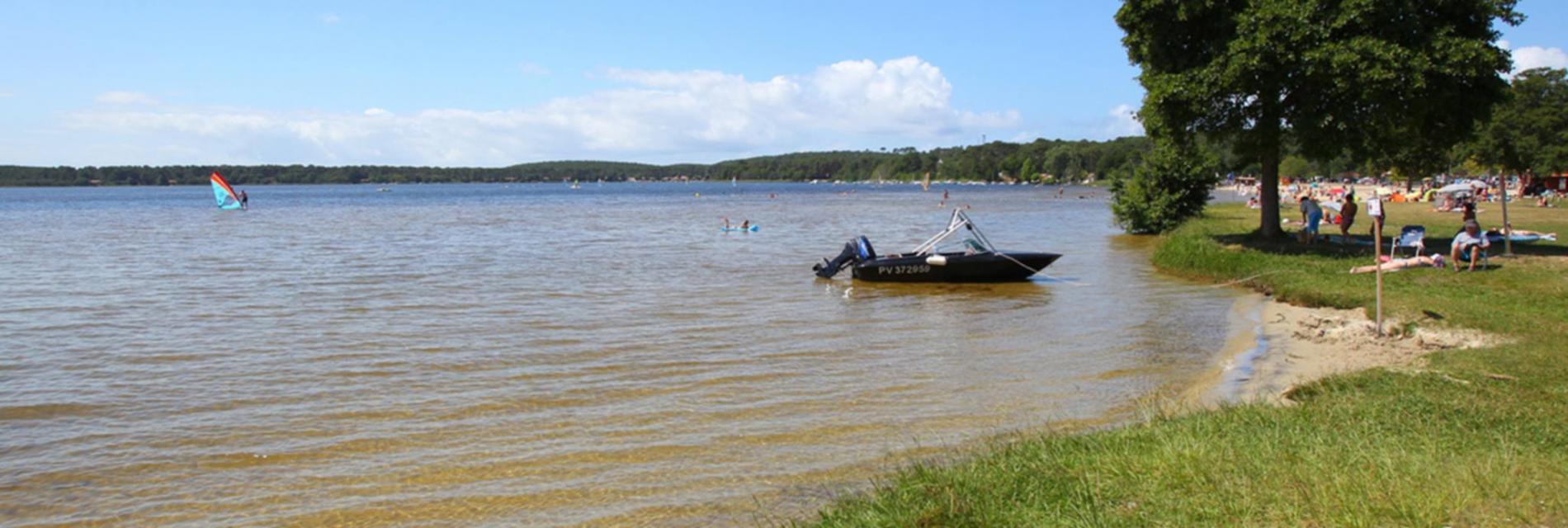Slide Le lac