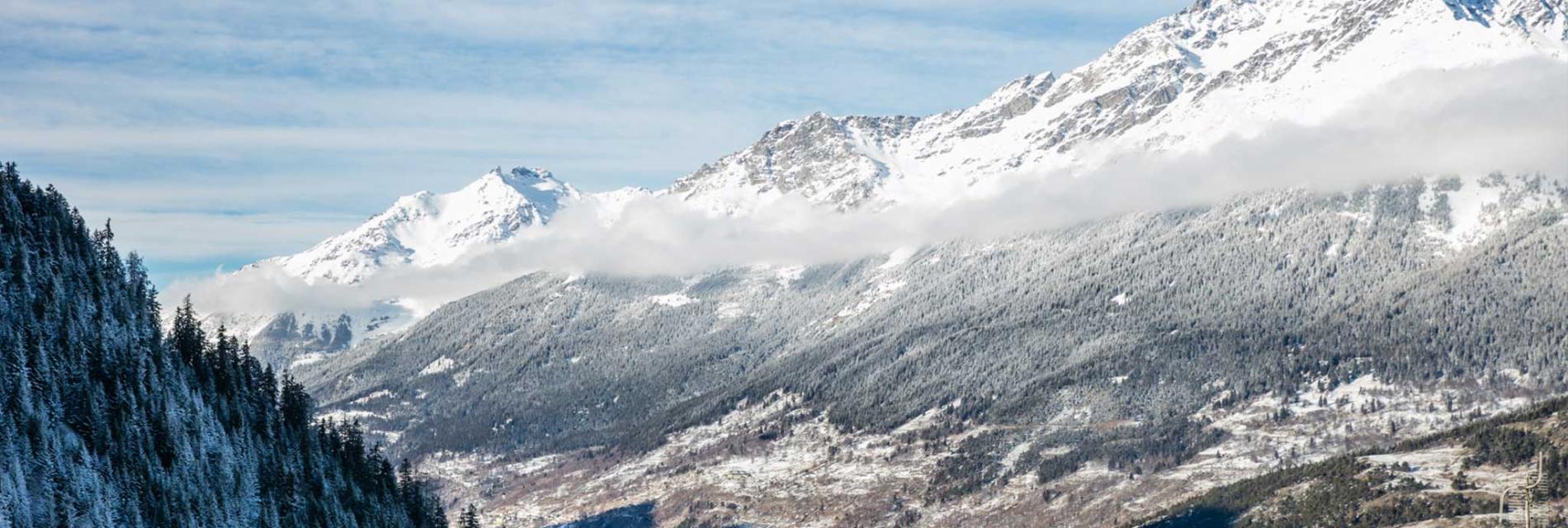 Slide paysages montagneux