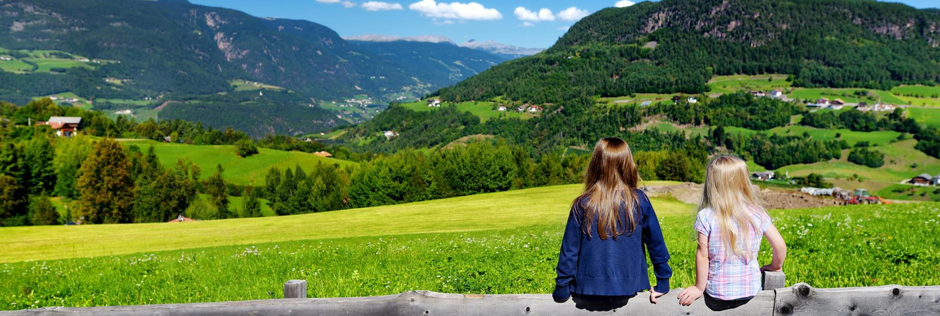 Slide paysages d'été aux Gets