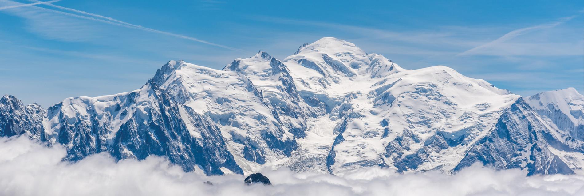 Slide le mont blanc