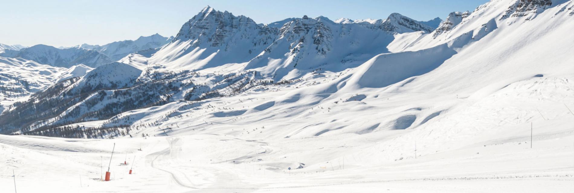Slide paysages d'hiver