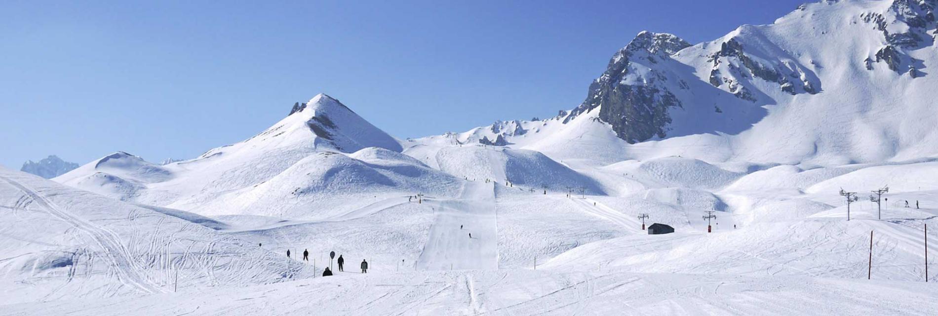 Slide le domaine skiable
