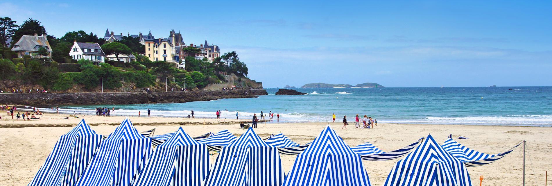 Slide La plage de Dinard