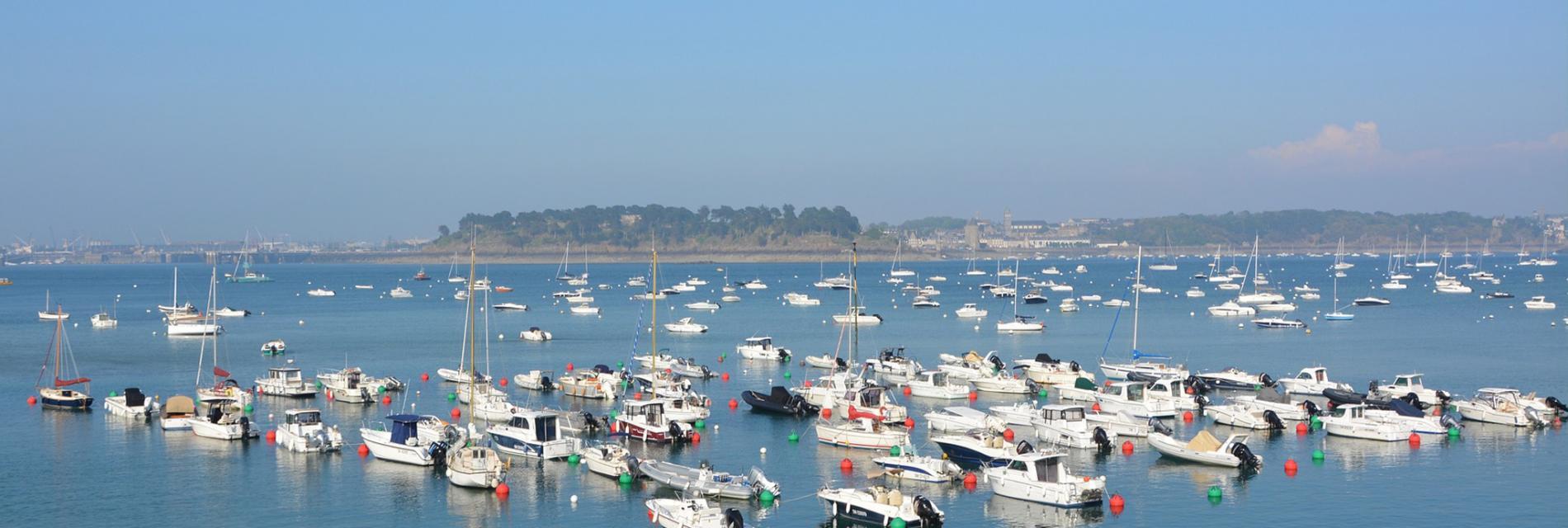 Slide Le port de Dinard