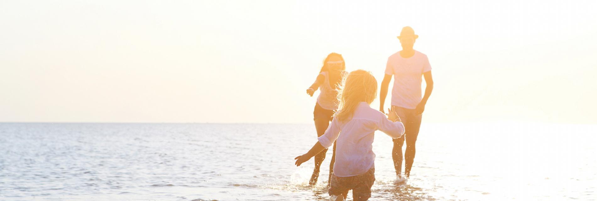 Slide vacances en famille