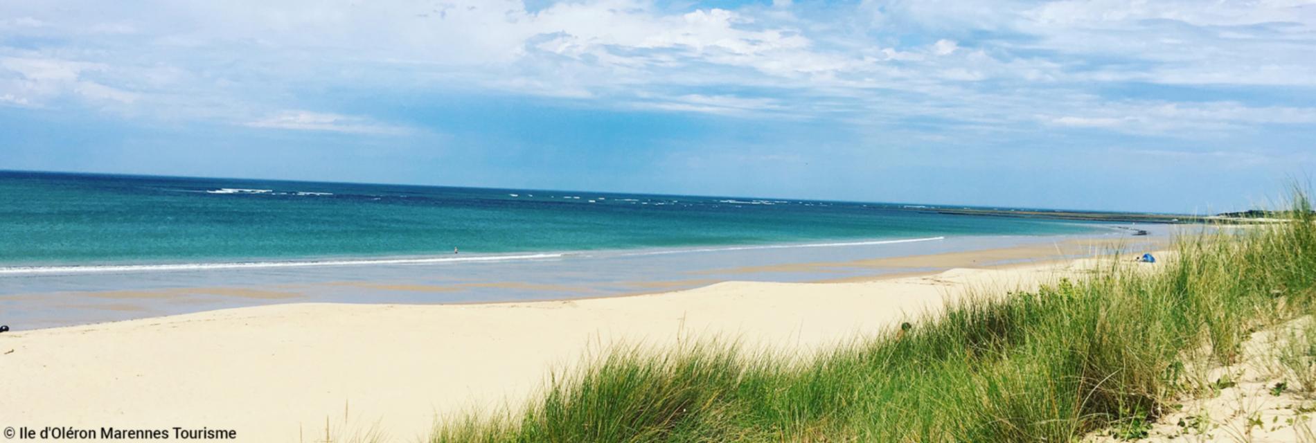 Slide la plage