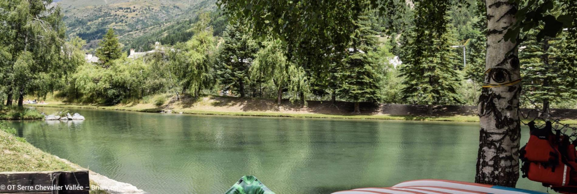 Slide Lac à Serre Chevalier