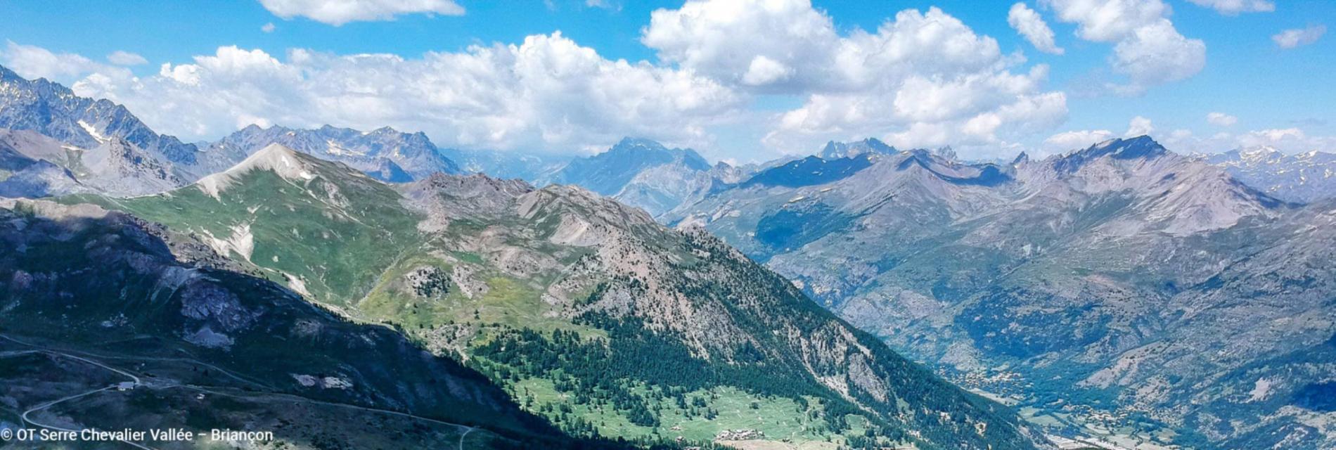 Slide Les massifs de Serre Chevalier