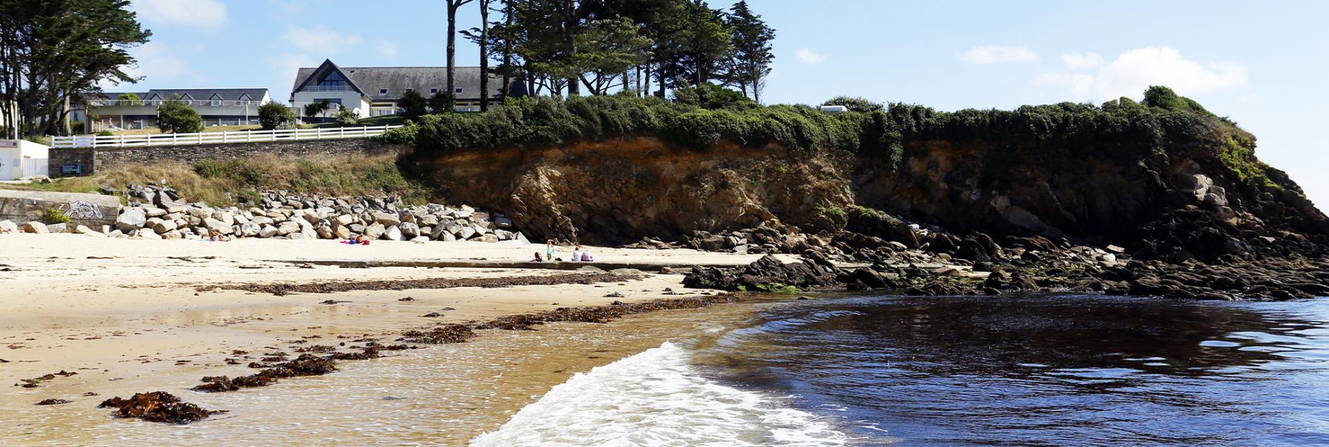 Slide Accès plage - résidence Iroise Armorique