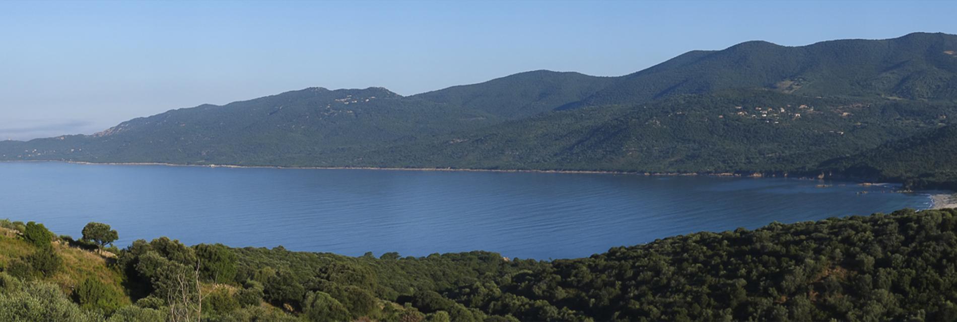 Slide la vue sur la baie Cupabia