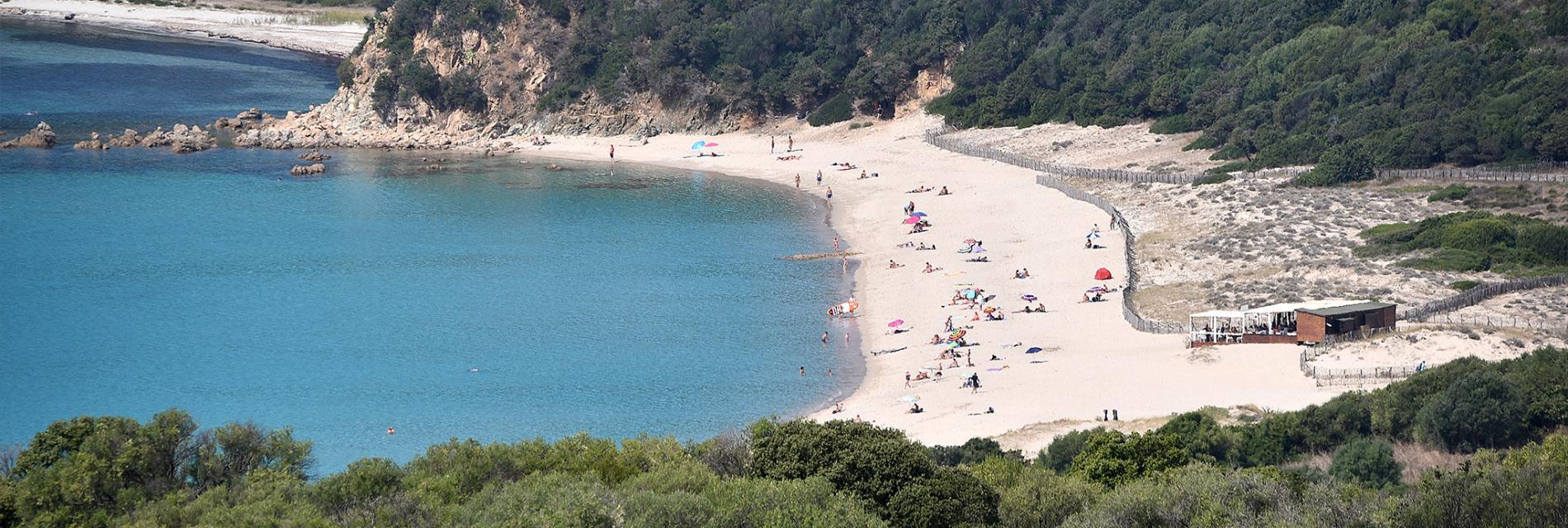 Slide la plage de Cupabia