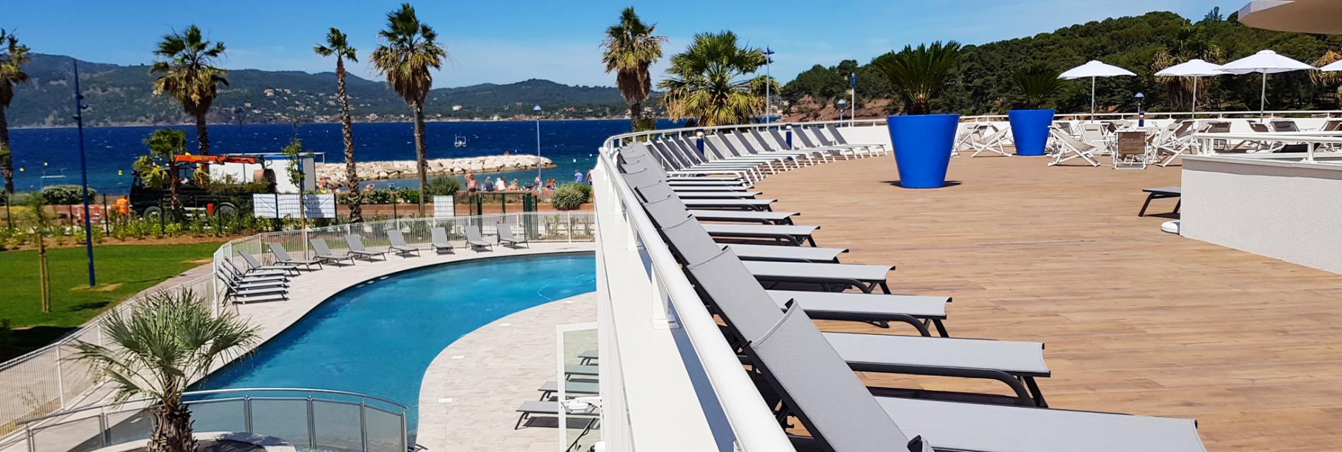 Slide Résidence jardin   - Cap Azur
