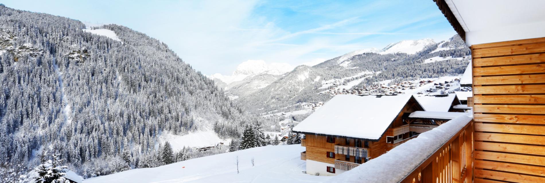 Slide Appartement résidence le Grand Lodge - Montagne Hiver