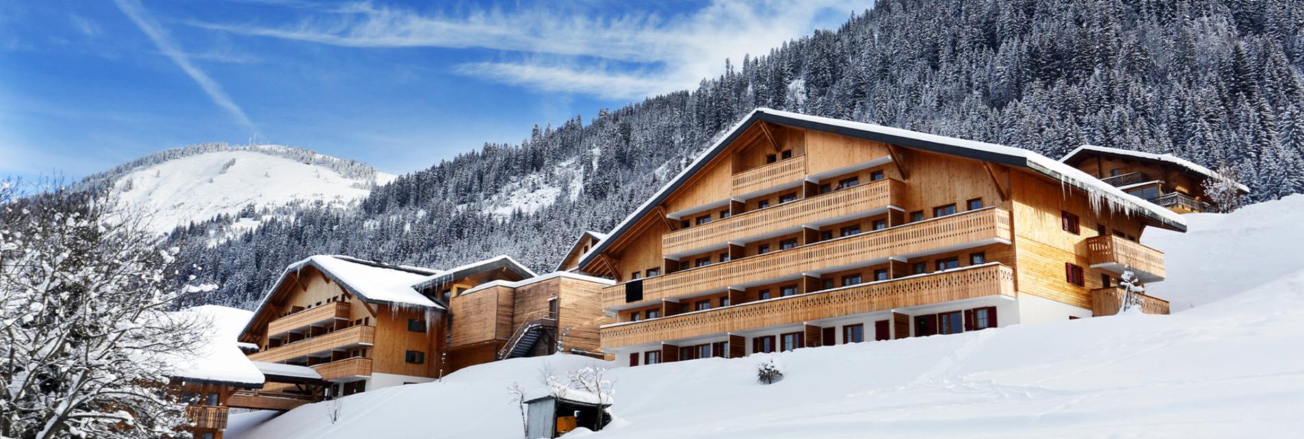 Slide La résidence le Grand Lodge - Montagne Hiver