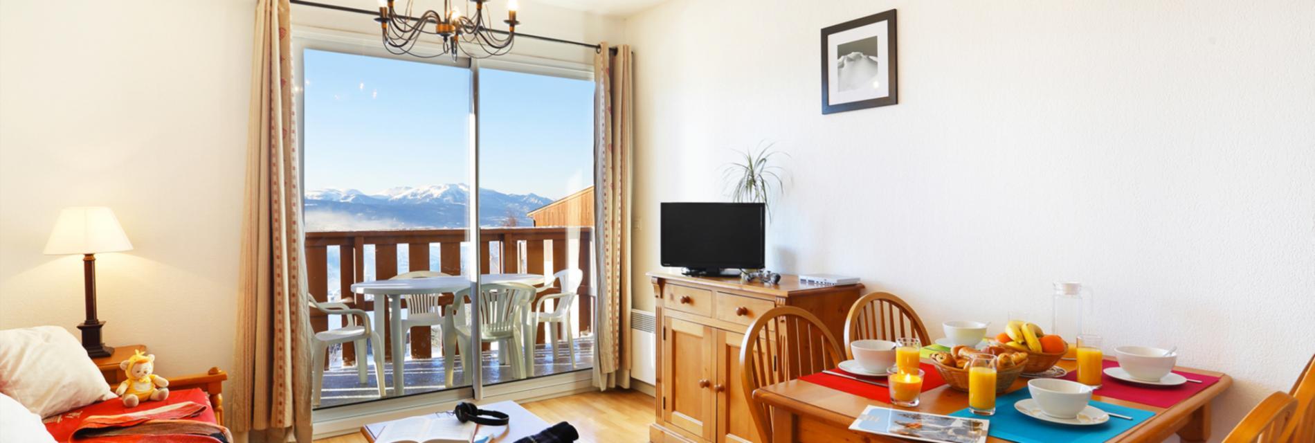 Slide Appartement Résidence Les Chalets du Belvédère à Font Romeu