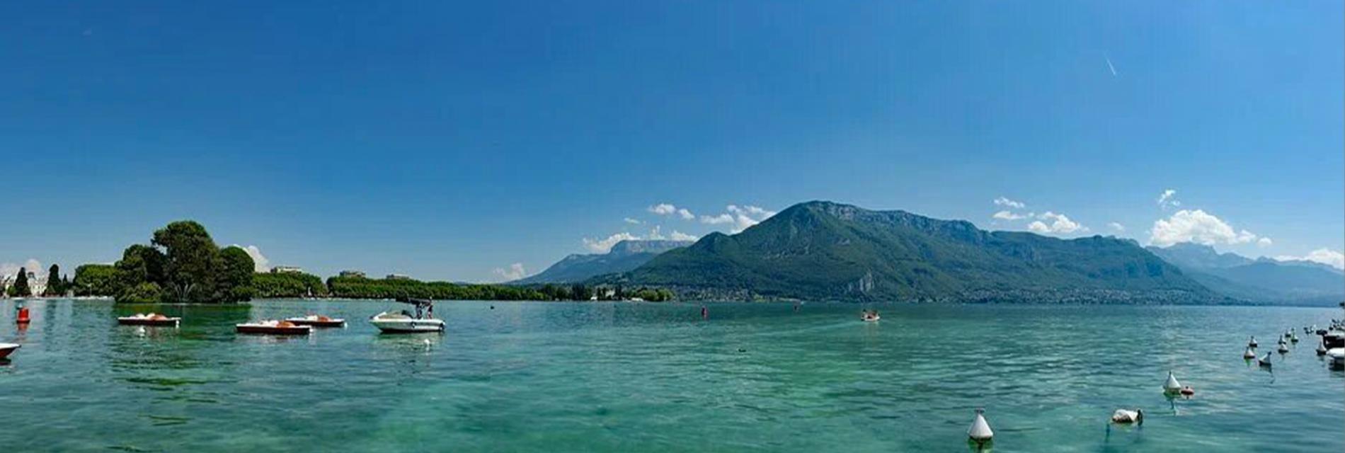Slide lac d'Annecy
