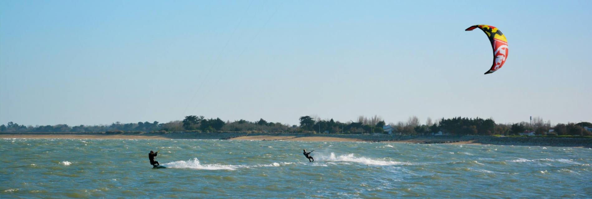 Slide sport nautique