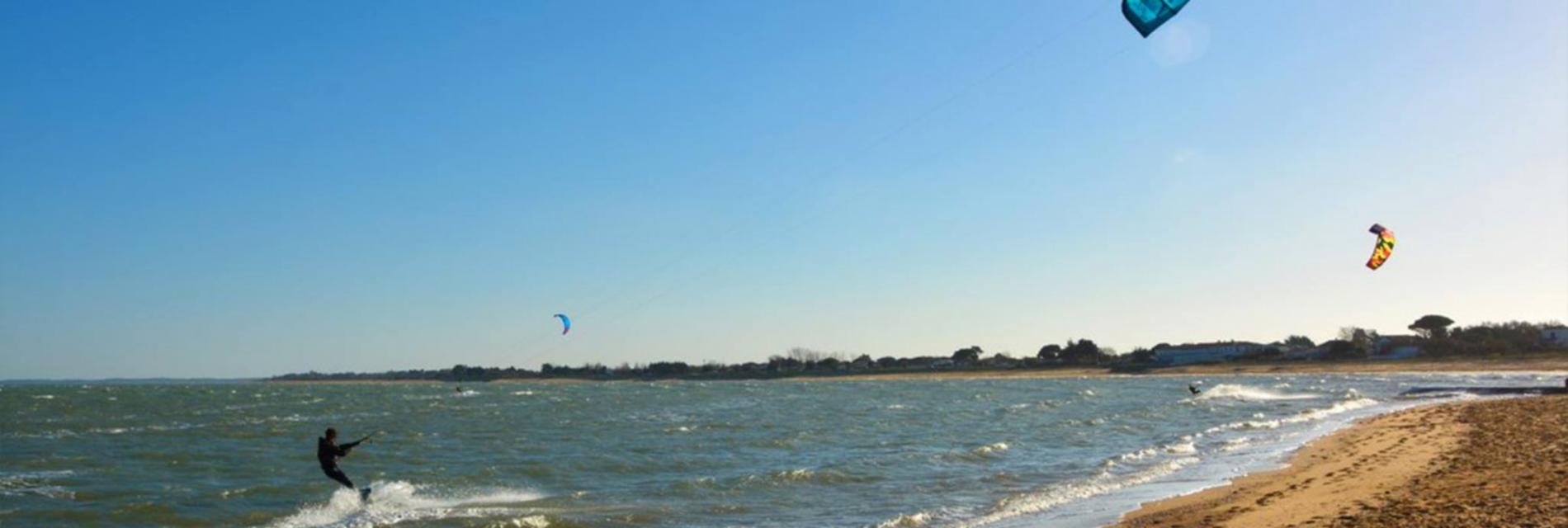 Slide kitesurf