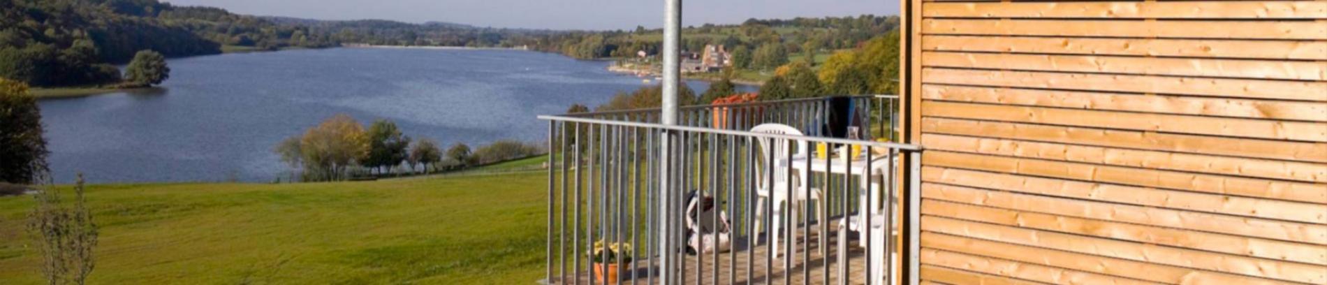 Slide la résidence vue lac