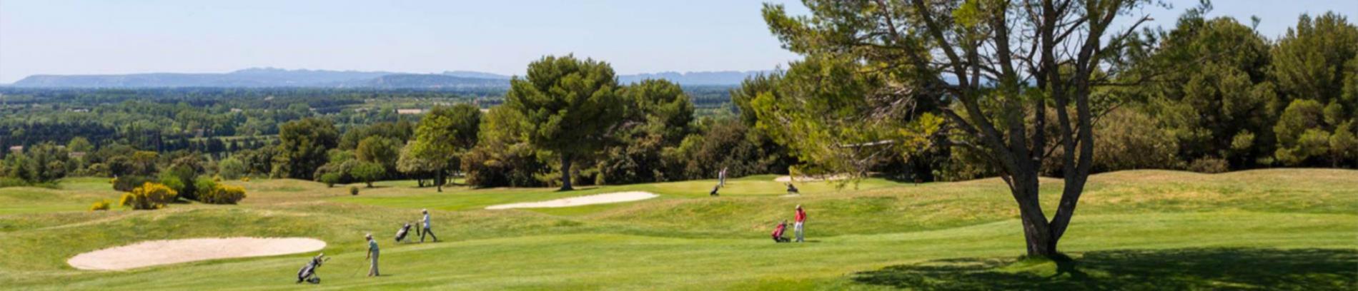Slide vue sur le golf