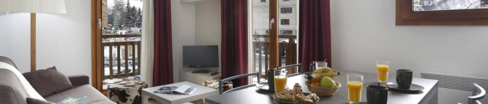 Slide des appartements confortables avec vue