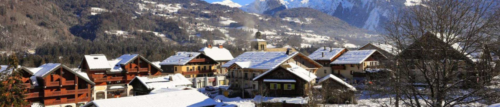 Slide le village de Morillon
