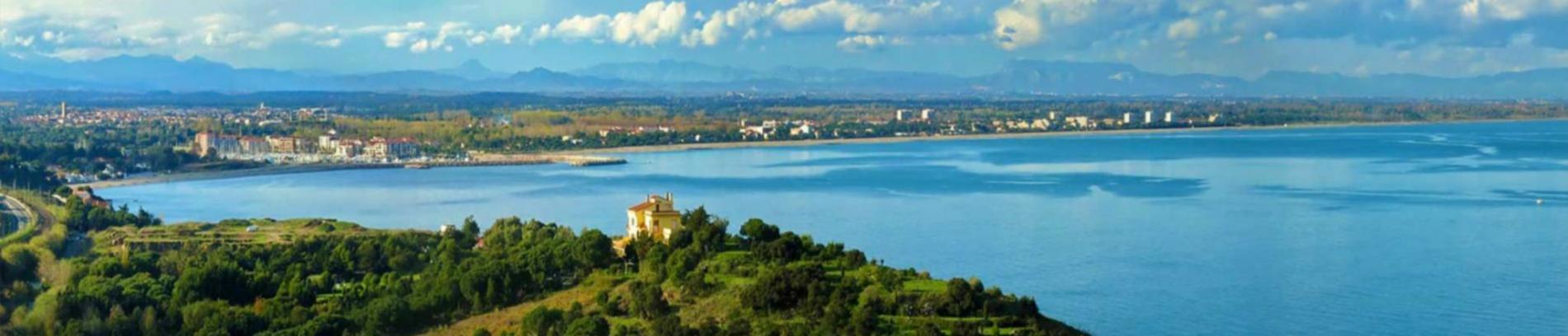 Slide vue sur la mer méditerranée