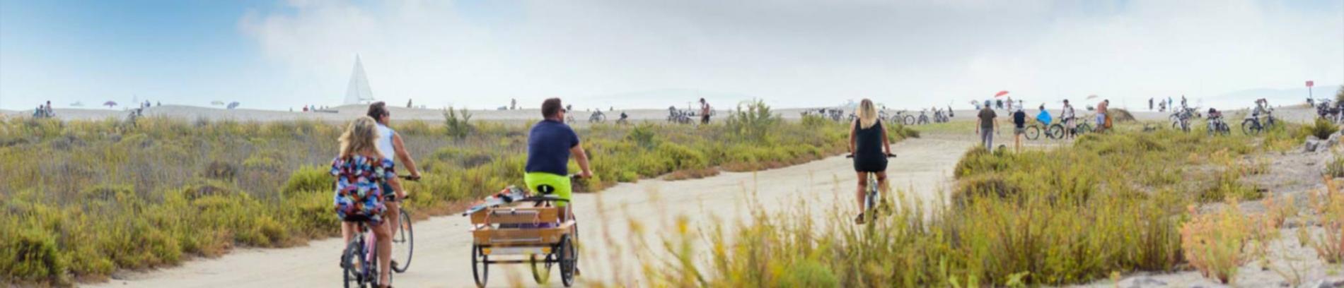 Slide balade à vélo
