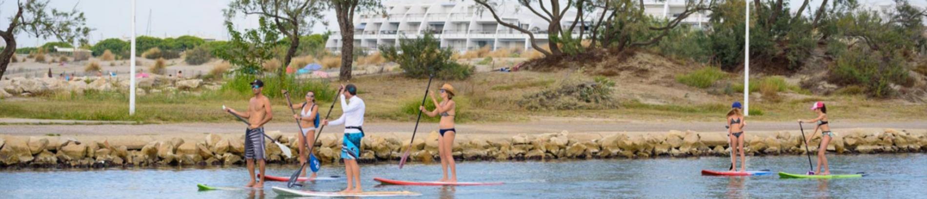Slide paddle